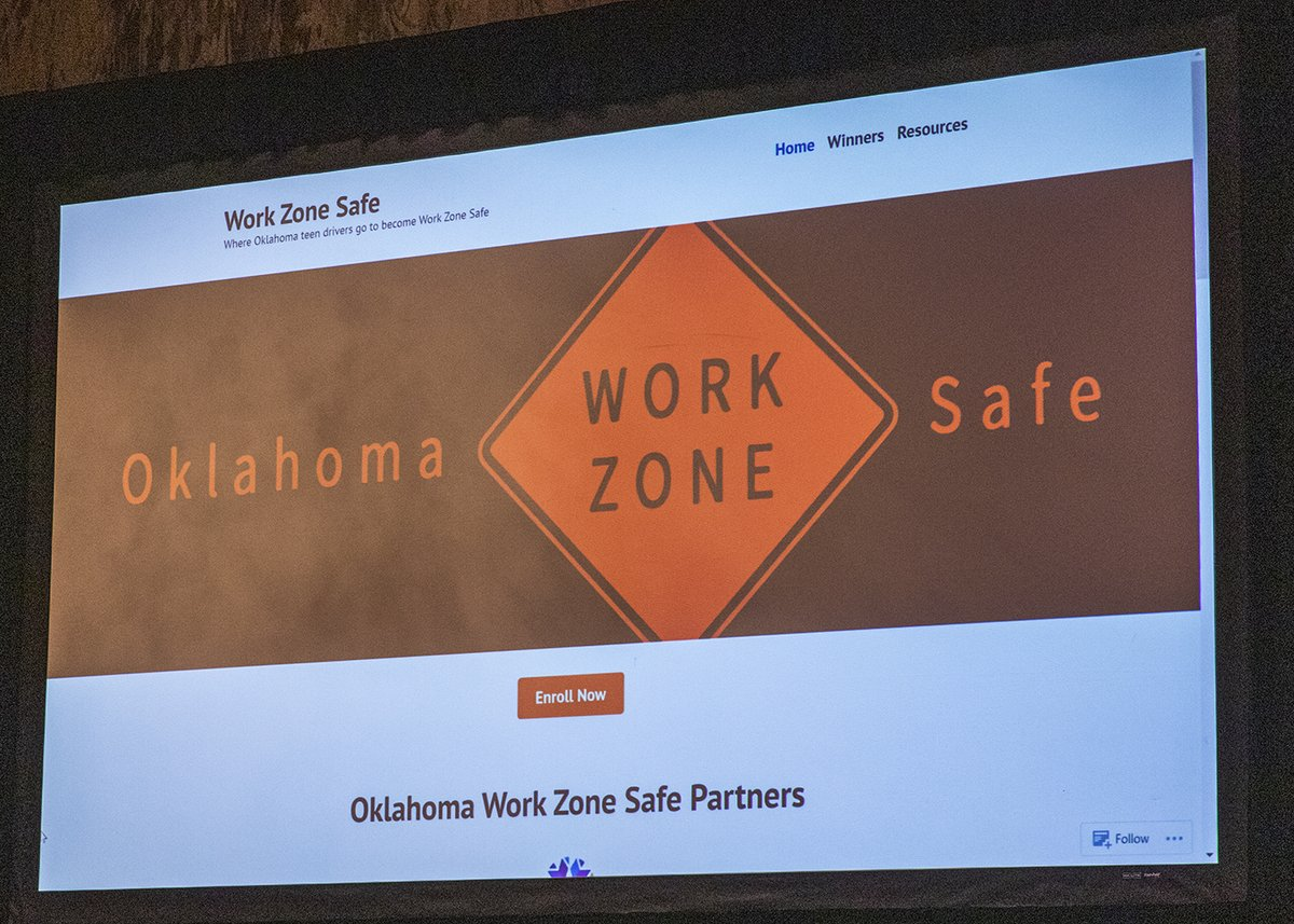 Image posted in Tweet made by Oklahoma Department of Transportation on August 1, 2021, 1:00 am UTC
