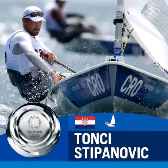 Bravo, Tonči 🥈#CRO  #Olympics2020