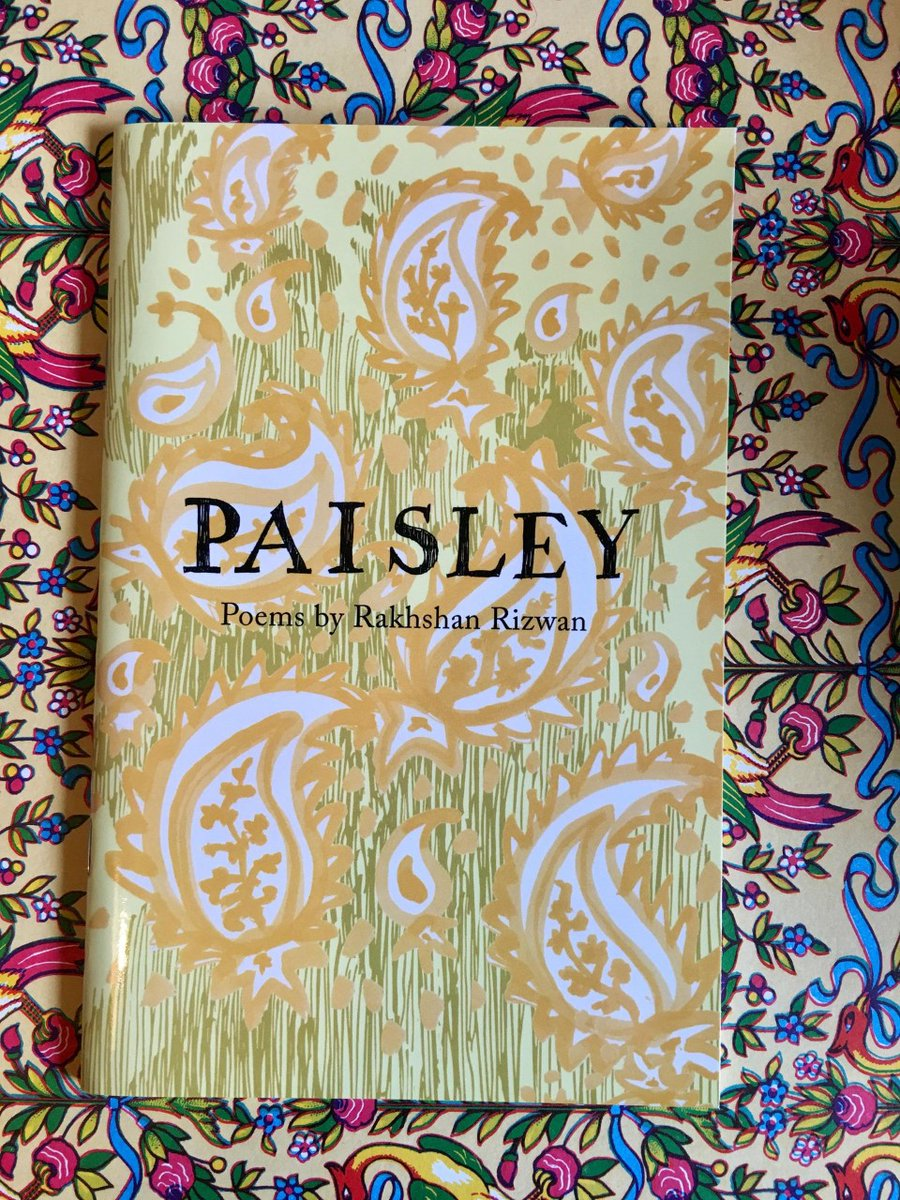 test Twitter Media - It's Day 1 of @SealeyChallenge! Can you read a poetry book (or pamphlet) a day for all of August? Every day @PoetrySociety asks poets to recommend texts. Today's pick from @ellora_sutton is 'Paisley' by @RakhshanRizwan (Emma Press, 2017) #TheSealeyChallenge #ReadMorePoetry https://t.co/WnuuUtaahc