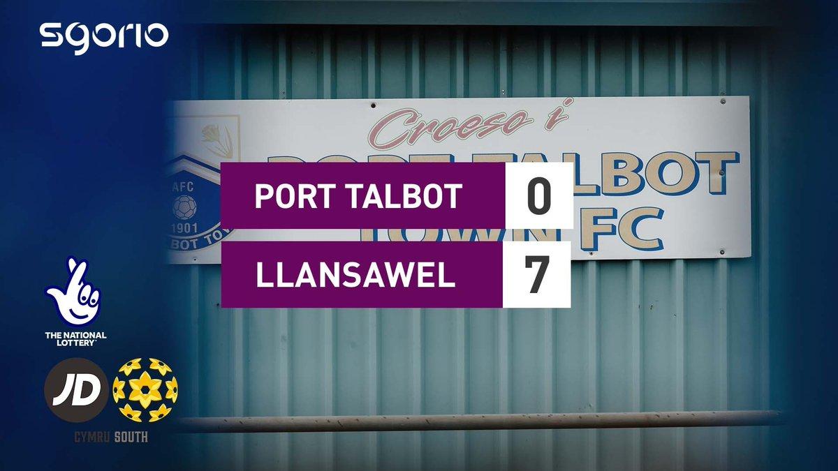 Image for the Tweet beginning: Uchafbwyntiau   Highlights  @PortTalbotTown 0-7 @bflafc