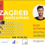 Image for the Tweet beginning: Meet Rudy Witkowsky, Zagreb Digital