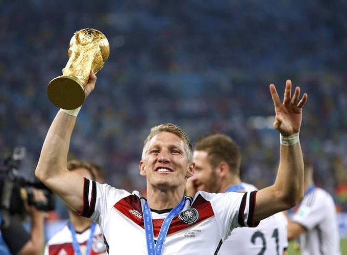 Happy birthday to one of the greatest German mid fielder Bastian Schweinsteiger