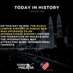 Image for the Tweet beginning: Today in history in 1956. Read