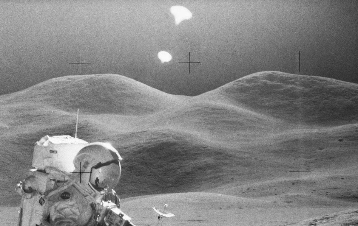 Apollo Mission on the Moon