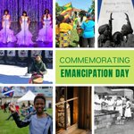 Image for the Tweet beginning: Today is #EmancipationDay, commemorating &