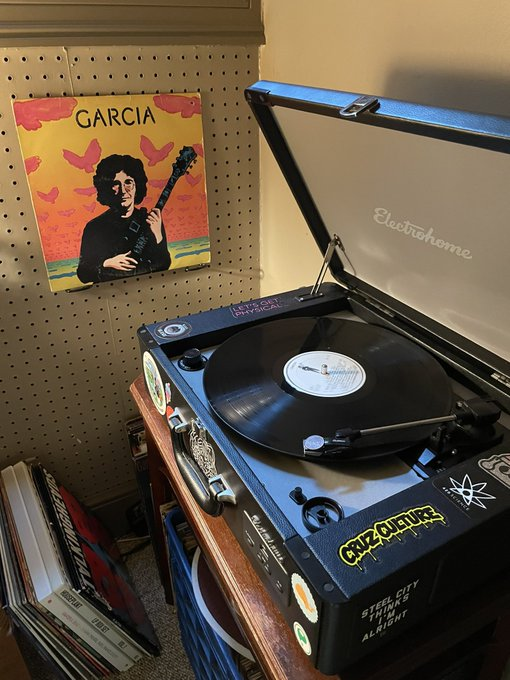 8/1/2021 Jerry Garcia s Compliments (also known as Garcia )   Happy Birthday, Captain Trips.