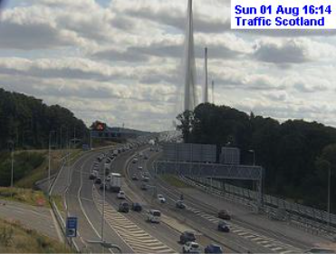 test Twitter Media - ❗️UPDATE⌚️ 16.15  #Edinburgh area  #M90 Queensferry Crossing S/B slow from Ferry Toll N/B still slow from Echline  #A720 running well for now other than slight hold-ups both ways at Sheriffhall.  No issues to report #A1, #M8 or #M9 in the area.  #edintravel @SETrunkRoads https://t.co/cHcVMDXPvN