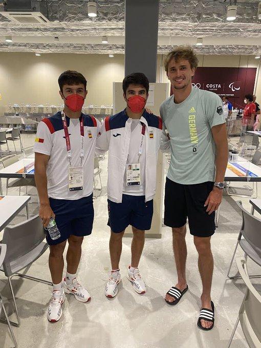 Disfrutando de la Villa Olímpica y de poder coincidir con grandes deportistas.¡Enhorabuena,  p....