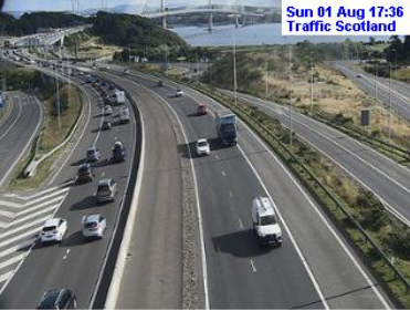 test Twitter Media - ❗️UPDATE⌚️ 17.40  #Edinburgh area  #M90 Queensferry Crossing N/B largely clear now S/B busy from Ferry Toll  #A720 W/B queuing Millerhill to Sheriffhall  #M8 E/B all clear after earlier RTC at Hermiston Gait.  #edintravel @SETrunkRoads https://t.co/fupgH6TxNY