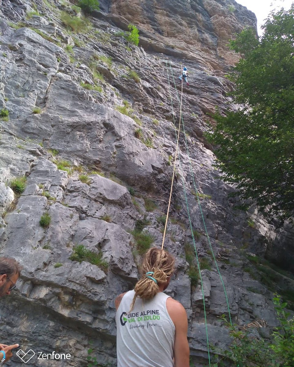 Oggi piove ma presto torniamo ad arrampicare a Ert...