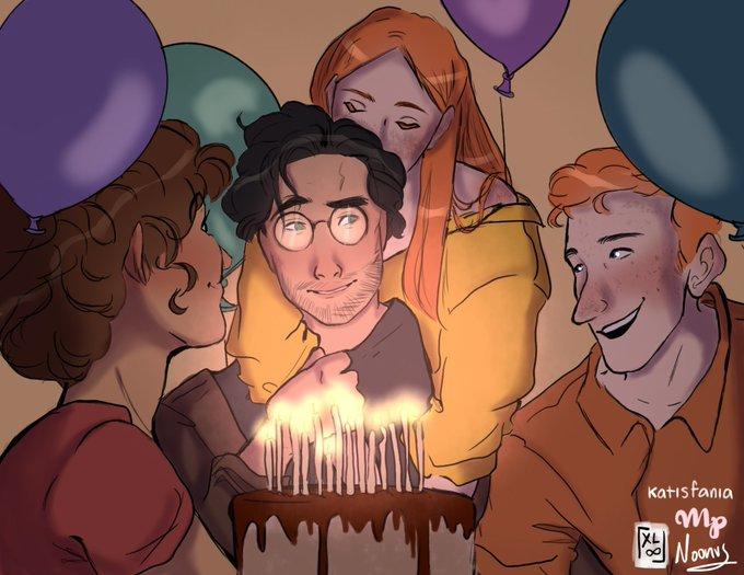 Happy birthday, Harry Potter! En colaboración con  y