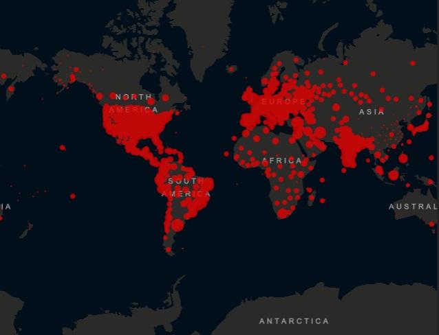 Cijfers coronavirus wereldwijd in week 30. Hoe is de stand van zaken? https://t.co/e8M1nGPO3z https://t.co/CwGhEl1WLK