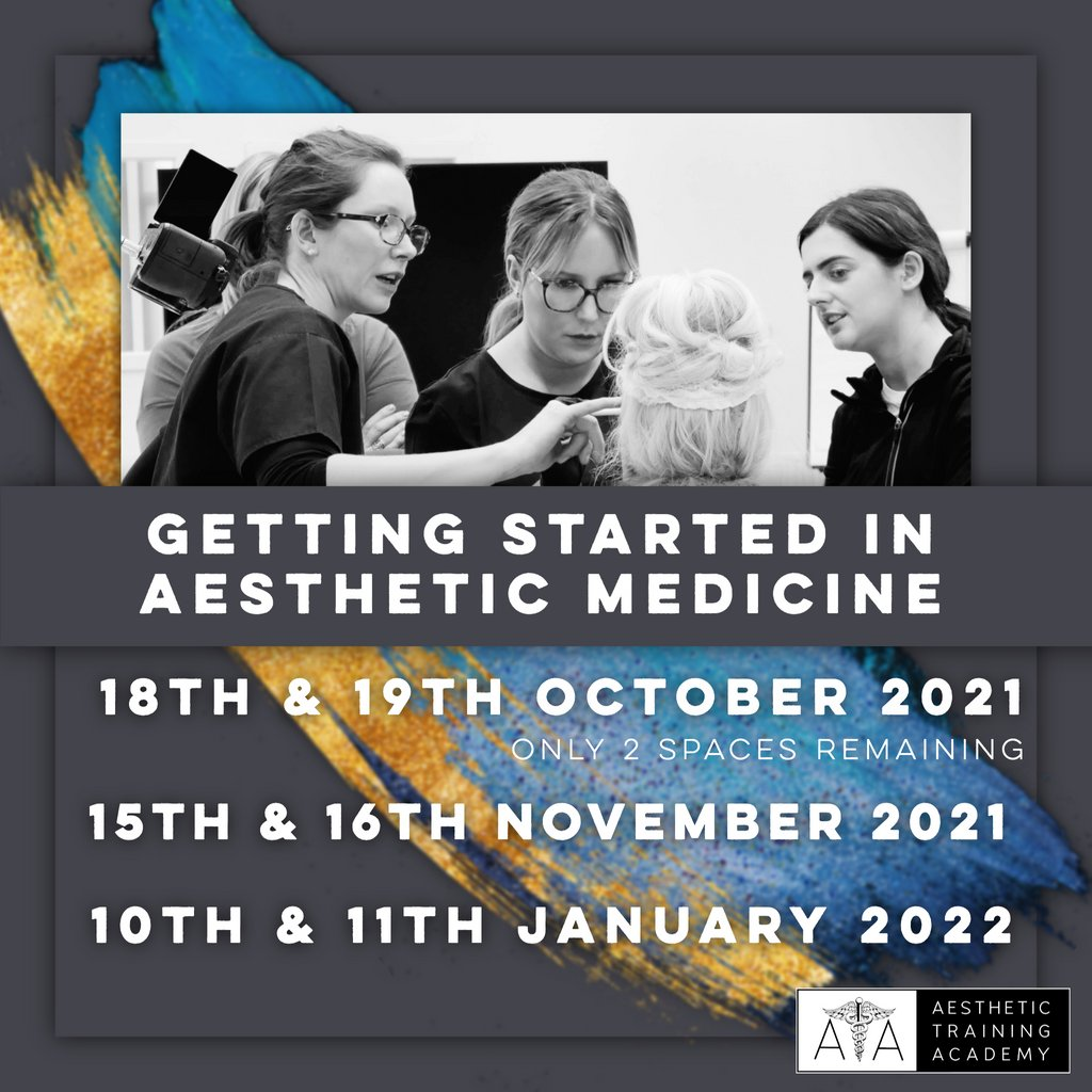 test Twitter Media - ATA's most popular course Getting Started in Aesthetic Medicine is filling up quick!  Our next available Getting Started in Aesthetic Medicine course is on the 18th & 19th October 2021. Book early to secure your place at  https://t.co/JyhQ04tIt0 https://t.co/OlnYr2Zanh