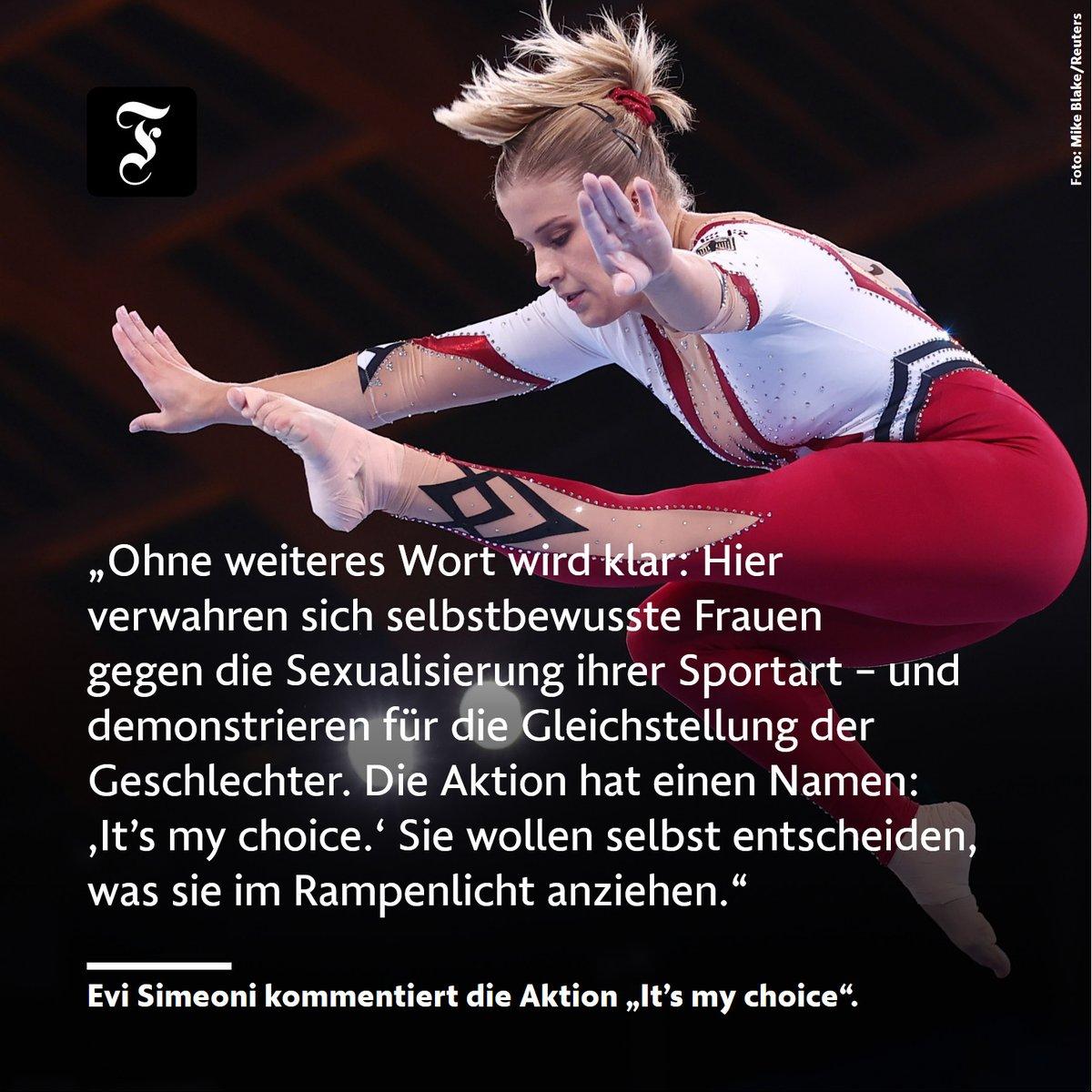 Image for the Tweet beginning: Die deutschen Turnerinnen traten bei