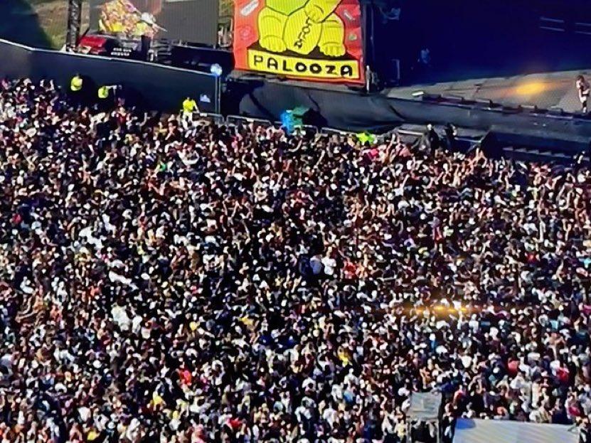 Lollapalooza in Chicago, Borderpalooza in Texas.