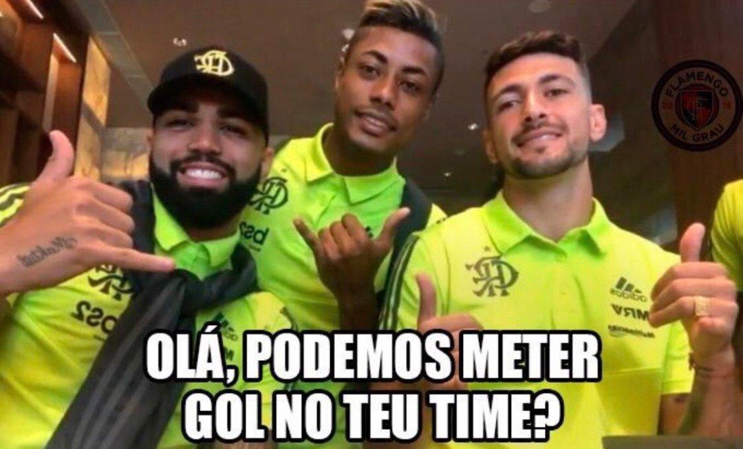 Veja a repercussão e memes nas redes da vitória do Flamengo sobre o Corinthians pelo Brasileirão