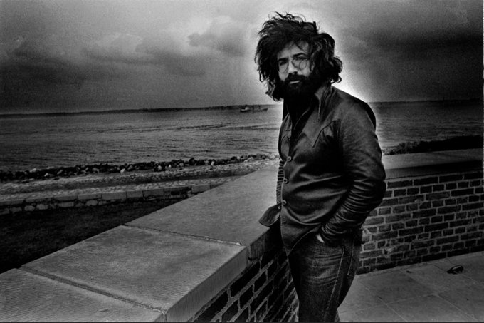 Happy Birthday to the great Jerry Garcia, born August 1, 1942.