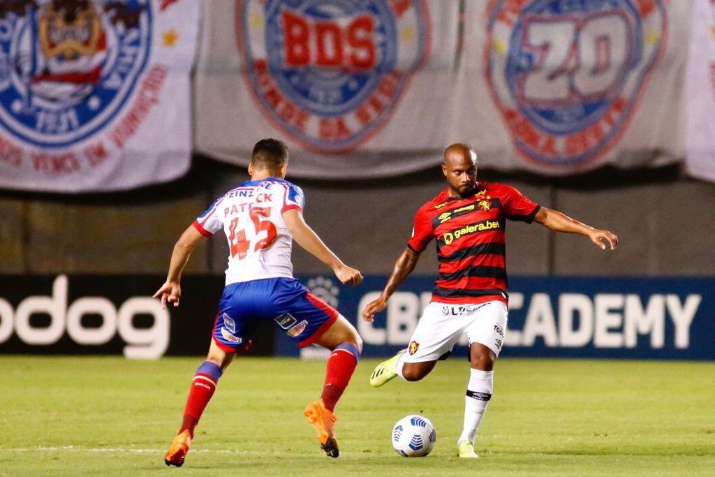 Sport marca no fim e vence Bahia em Pituaçu