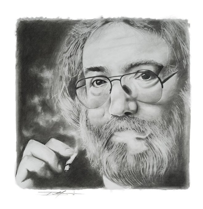 Happy Birthday to Jerry Garcia...the world is immeasurably better because of him