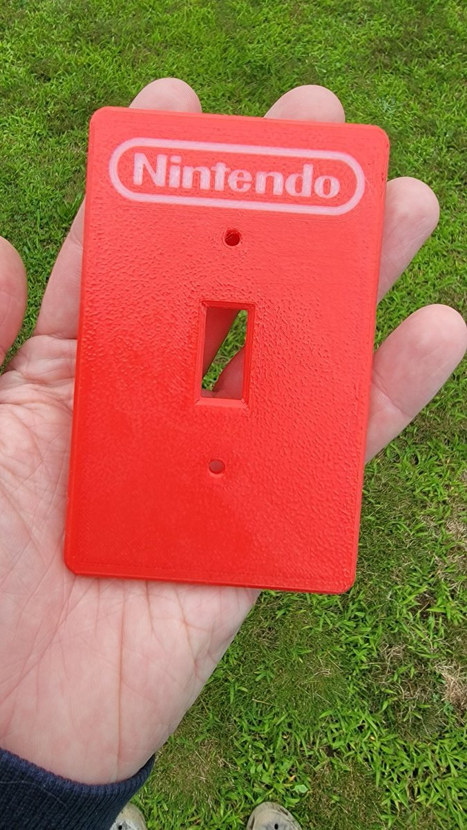 RT @ryanqnorth: My dad was quite pleased to give me this 3d printed... Nintendo switch https://t.co/nPzp9EqUCJ