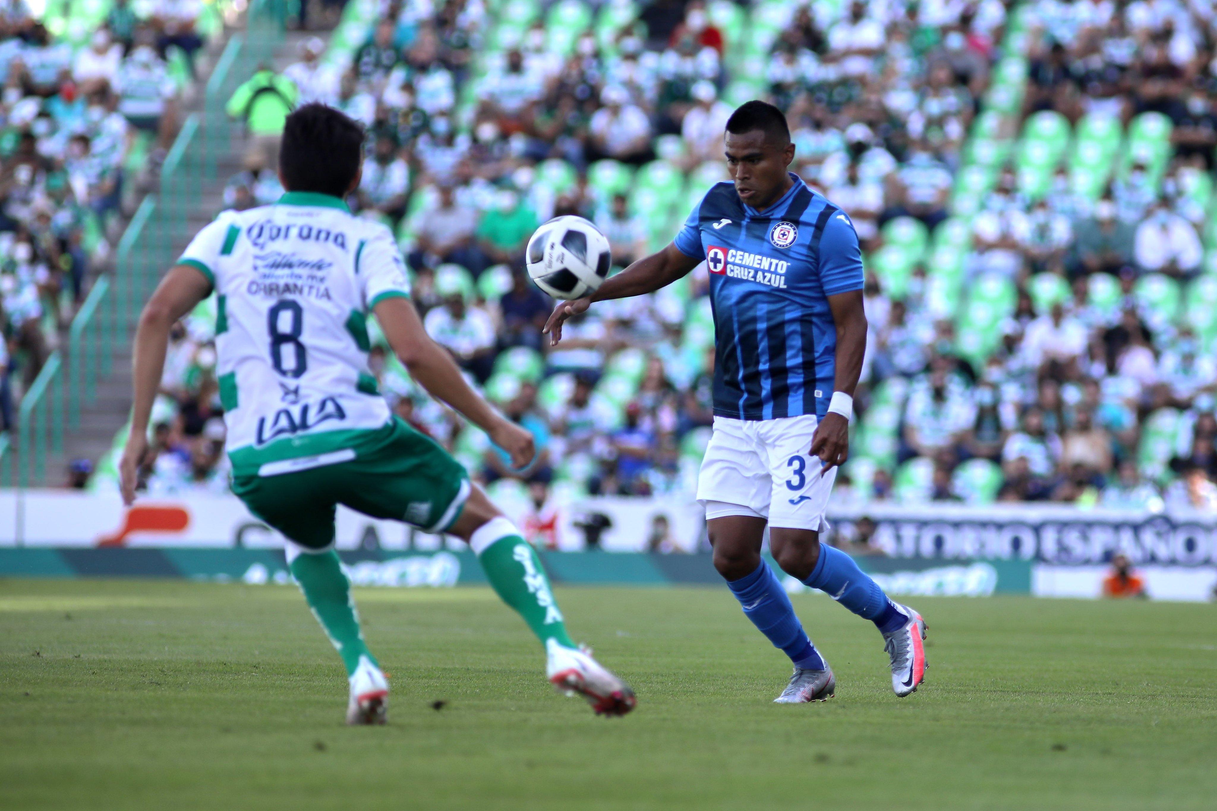 Santos 1-1 Cruz Azul