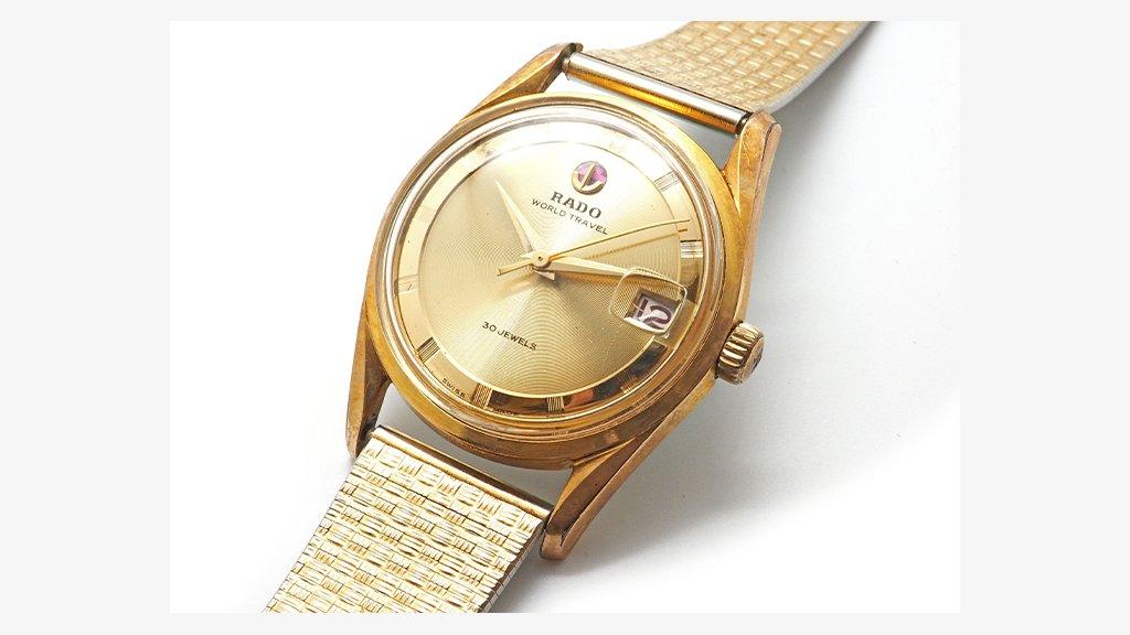 こんにちは、本日は時計工房便り。推定1960~1970年頃のRADO WORLD TRAVELを発掘したので、観察がてら写真を撮ってみました。 #RADO #worldtravel   https://t.co/BtuC2CBwJZ https://t.co/omi3TOKKtD