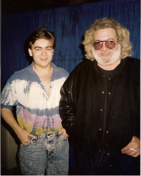 Happy Birthday Jerry Garcia!!  Capitol Center D.C. 1990??