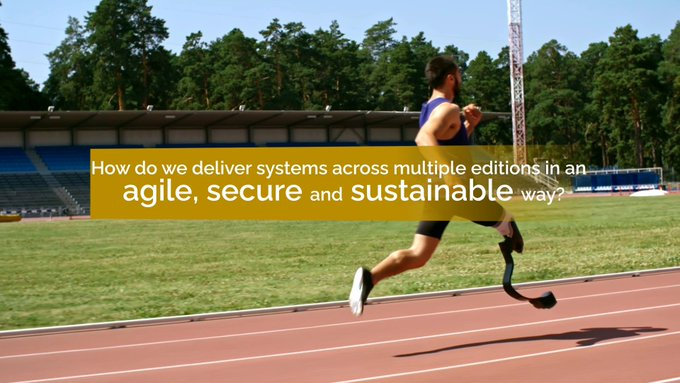 [#Tokyo2020] How do we deliver critical digital systems across multiple editions of the...