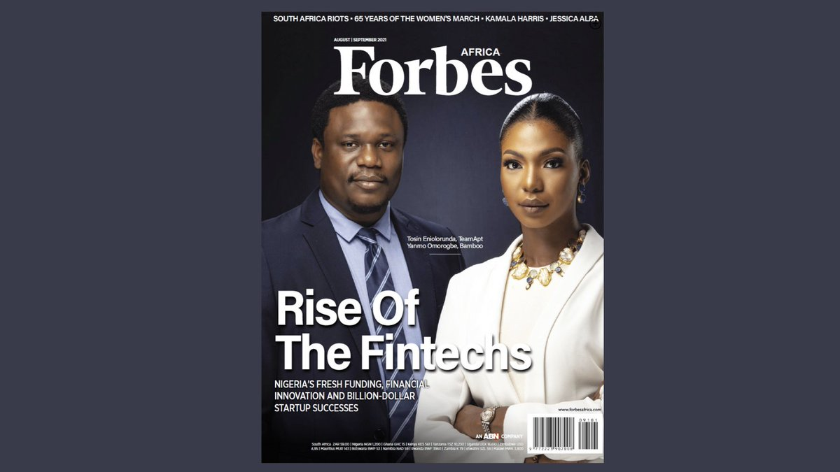 test Twitter Media - [NEW EDITION] In this issue of #FORBESAFRICA, read about Nigeria's fintech frenzy! Africa's biggest economy has a bright new star – its financial technology industry, which is attracting fresh funding and a raft of new startups, investors, and venture capitalists. https://t.co/8MKINuROQO