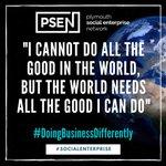 Image for the Tweet beginning: PSEN Social enterprise news -