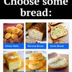 Image for the Tweet beginning: What #bread would you like