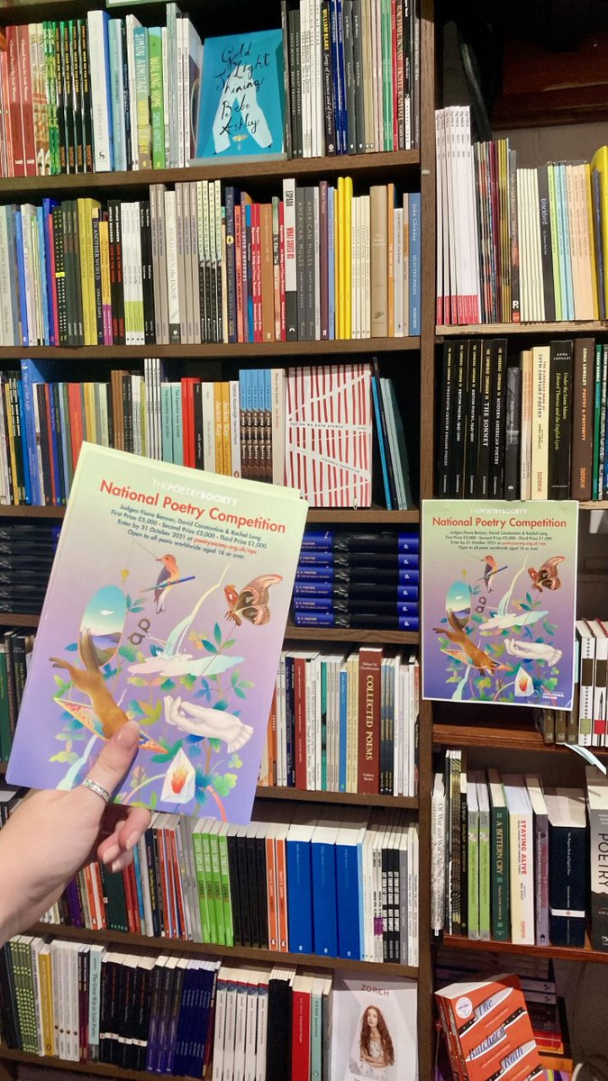 test Twitter Media - Have you spotted any #NationalPoetryCompetition 2021 posters or flyers (with artwork by Whooli Chen) at your local bookshop? Here are some posters in the lovely @NOALIBISBOOKS poetry section in Belfast #ReadMorePoetry #WriteMorePoetry https://t.co/OODtOkdOcQ