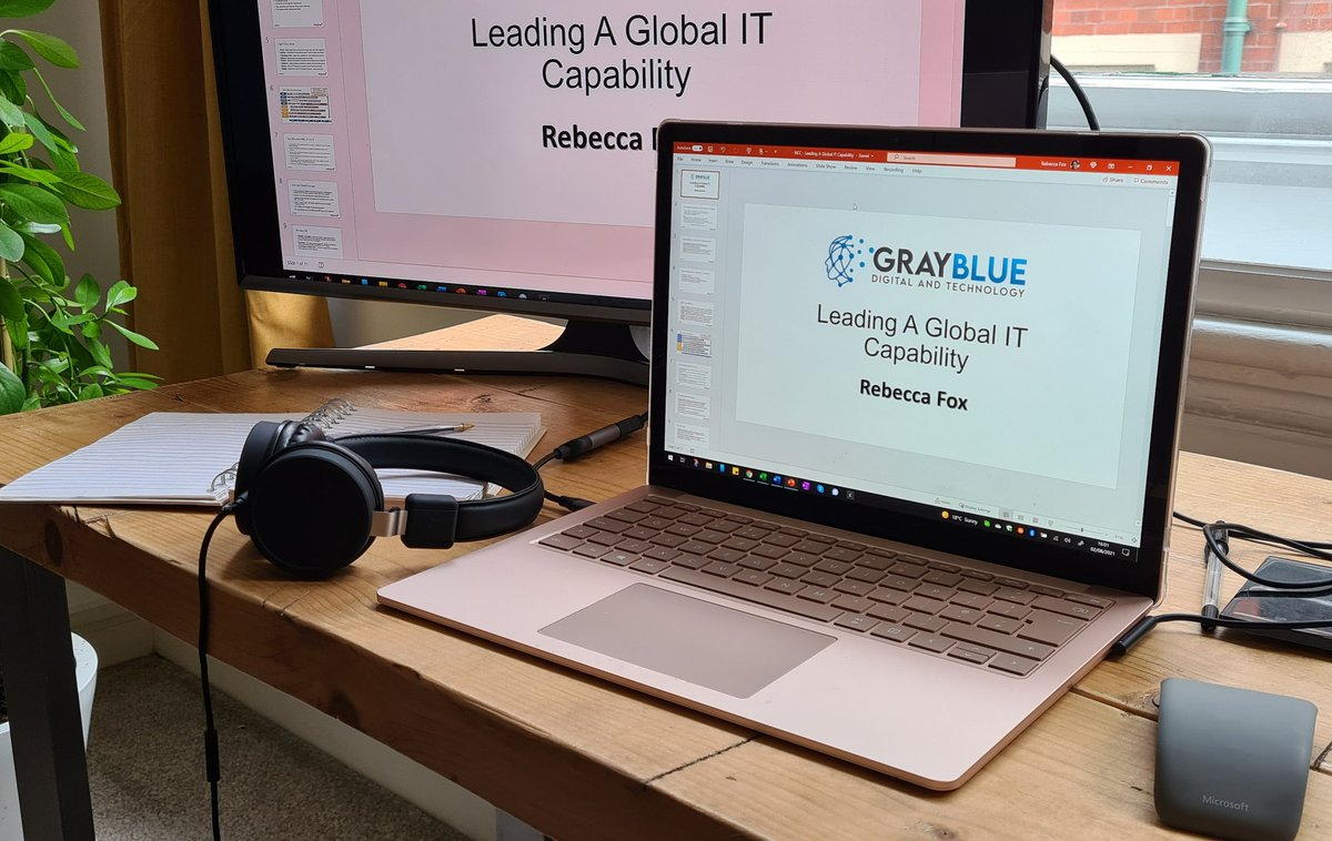 Today's photo of day is an easy one. I just delivered a brilliant presentation for a potential new client. 2/365#newbusiness#presentation#surfacelaptop#smashedit @graybluetech