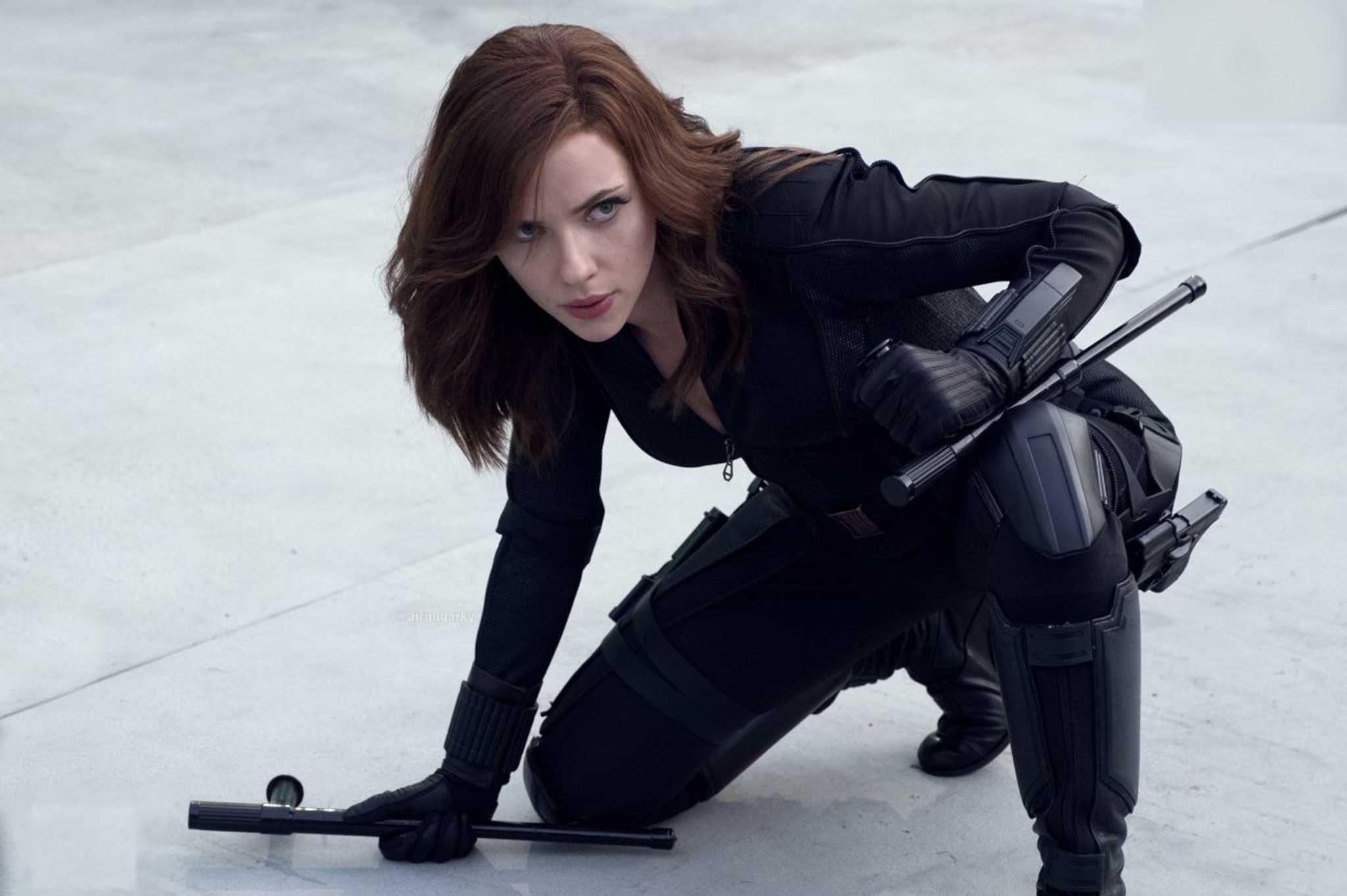 Black Widow Captain America Civil War