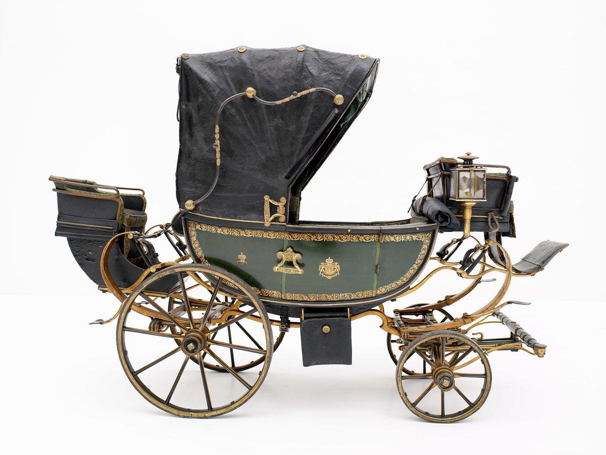 Children's carriage, 1835. Kunsthistorisches Museum Wien.