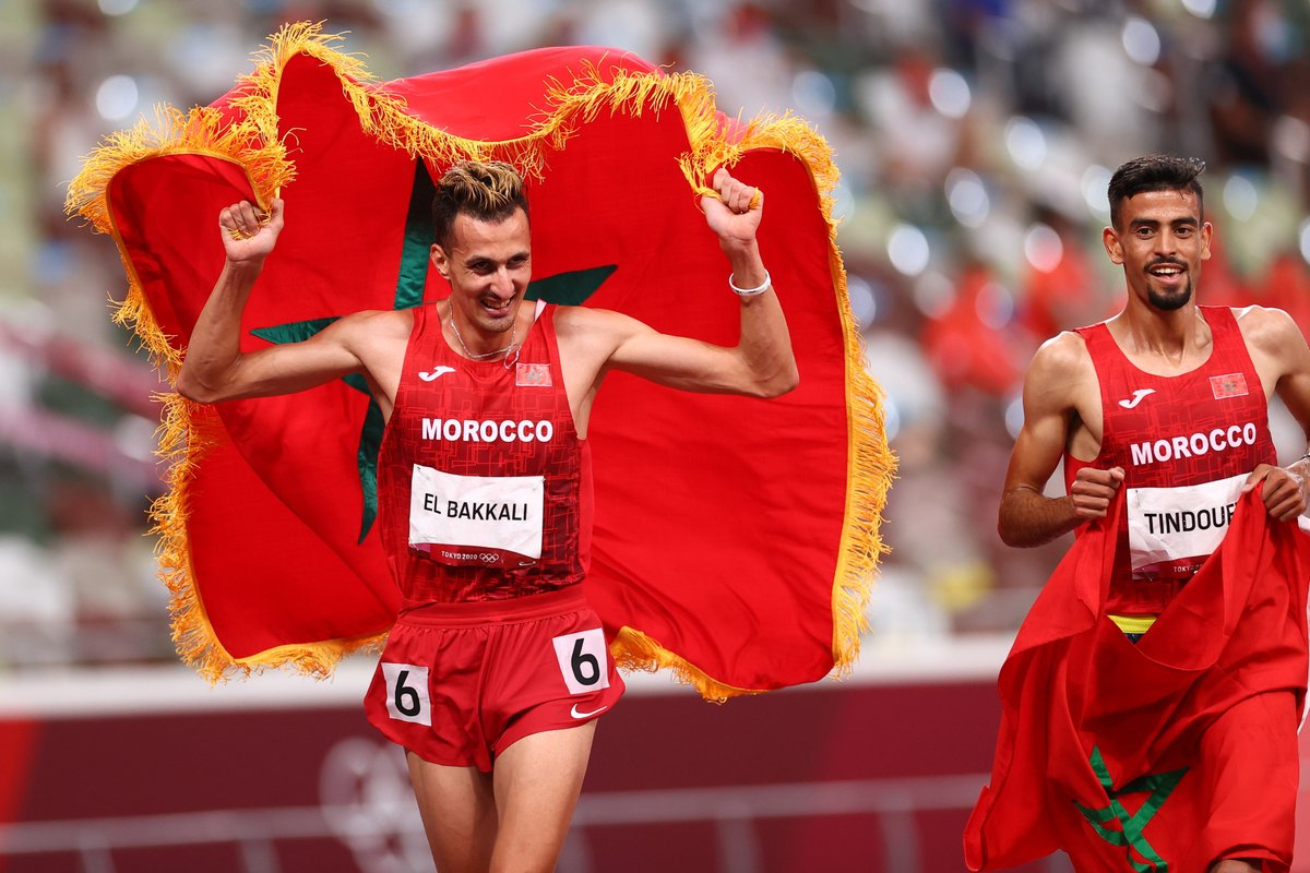 سفيان البقالي يمنح المغرب أول ميدالية ذهبية في أولمبياد طوكيو