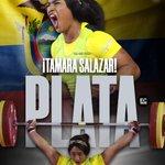Image for the Tweet beginning: La ecuatoriana 🇪🇨 Tamara Salazar