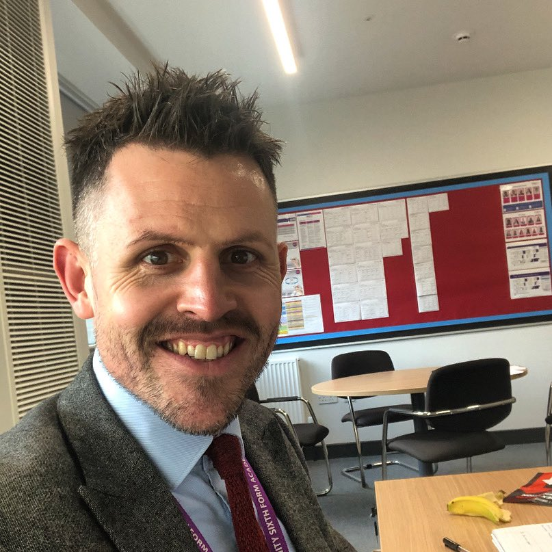 🌟 Meet the Team 🌟 Introducing Mr Fitzsimons, Principal at TSFA. His background is in sport and exercise, he studied at Sheffield Hallam and was a personal trainer before becoming a teacher!  #MeetTheTeam
