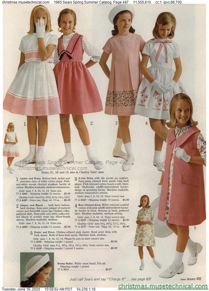 60年代の子供服が上品で素晴らし過ぎる!子供の頃から素敵な色に囲まれる幸せ…