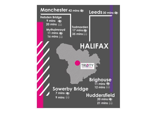 We are conveniently located in the heart of Halifax town centre, next to the bus station and only a 5 minute walk from the train station, making TSFA easy to get to from across Calderdale, Huddersfield, Bradford and beyond. https://t.co/HLggcSB7xk #SixthForm #Halifax