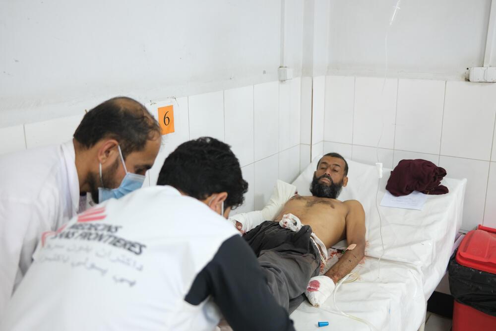 Våra team ser konsekvenserna av de intensiva striderna i #Afghanistan.  Från 29 till 31 juli vårdades 70 krigsskadade patienter på Boost sjukhus i staden Lashkar Gah. 1/3 https://t.co/IovbgMSLoX