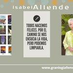 Image for the Tweet beginning: #IsabelAllende    Este 2 de