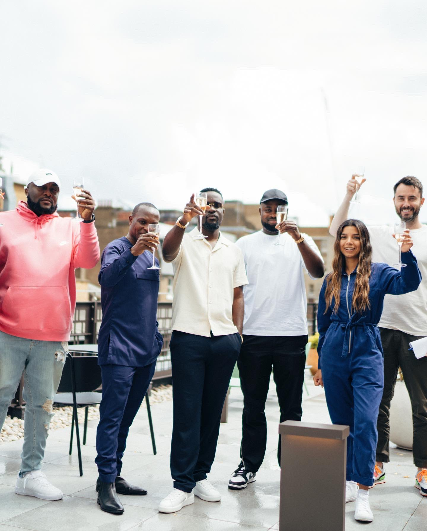 """Rapper Sarkodie signs new deal with Sony Music Publishing UK. His caption on Twitter: """"Officially part of the SMP @SonyMusicPubUK family"""