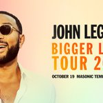 Image for the Tweet beginning: 💗NEW SHOW💗 @johnlegend on October 19th!