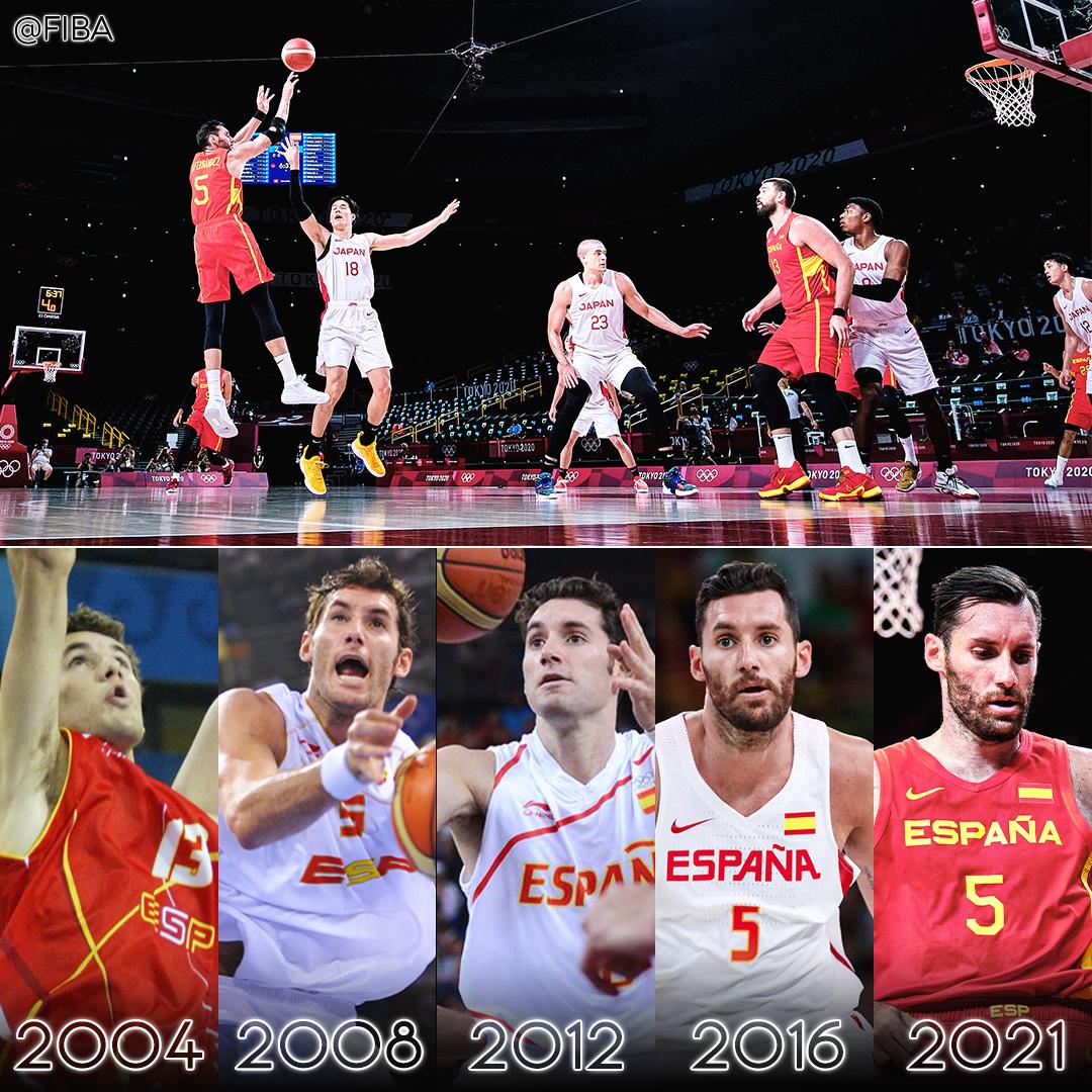 [花邊] FIBA推特貼出的「三位奧運五朝元老」