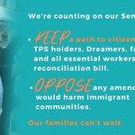 Image for the Tweet beginning: 📣Your senators need to hear