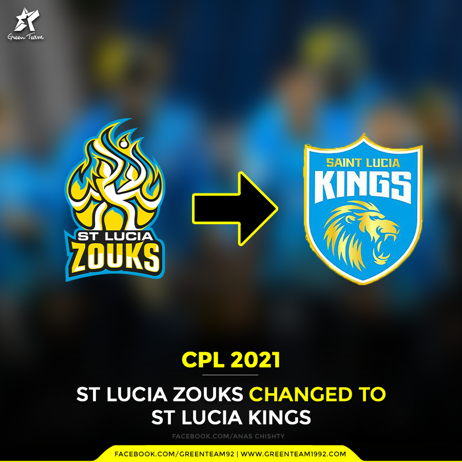 From St Lucia Zouks Franchise to St Lucia Kings in Caribbean Premier League: CPL 2021