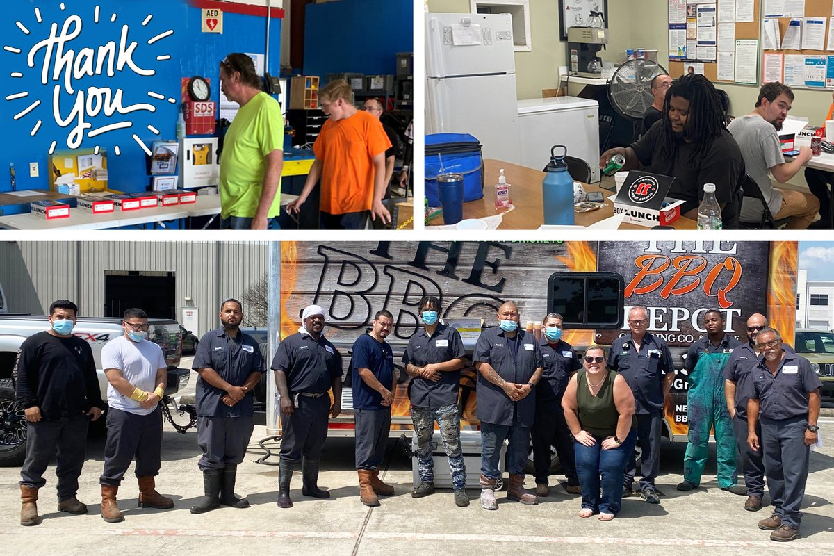 At Tranter, we are the best at what we do because we have the best employees. To show our Service Centers how much we value them, we treated them to a surprise employee appreciation lunch! Thank you for your dedication and hard work for Tranter! https://t.co/OGZ3mif2iH