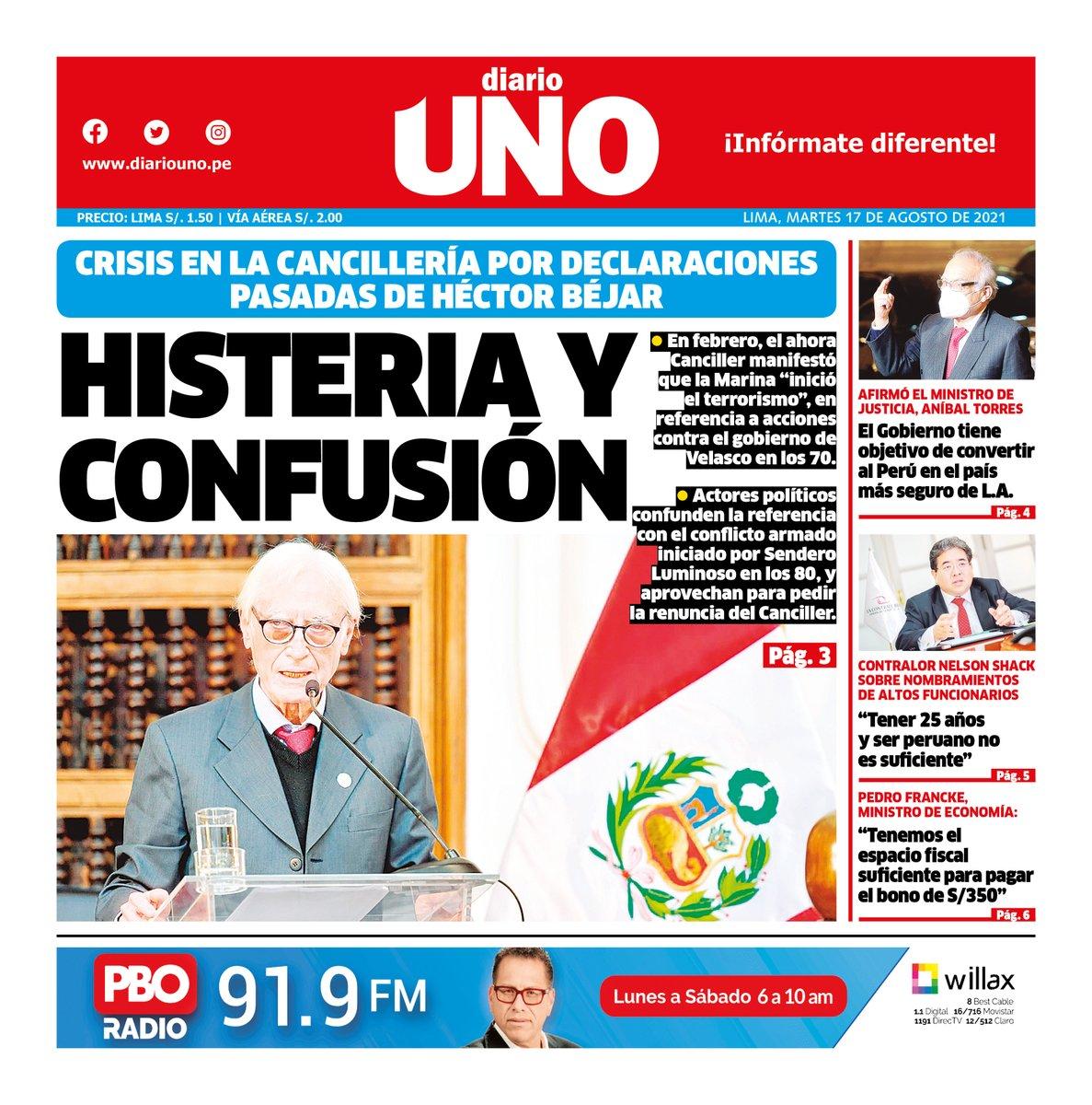 Diario UNO (@DiarioUnoPeru) | Twitter