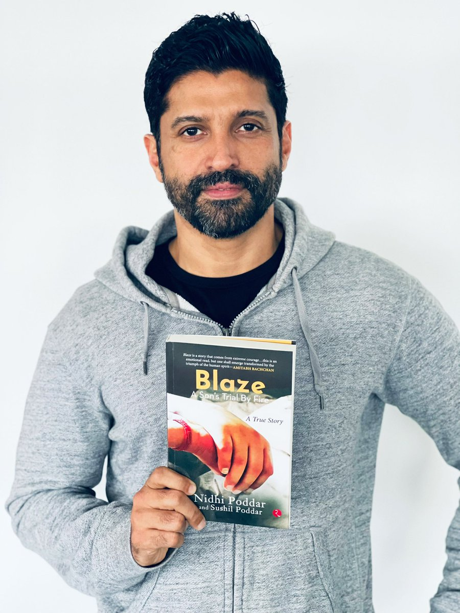 Was overwhelmed by a sea of emotions upon reading this book. Thank you & lots of love to Nidhi & Sushil Poddar for sharing their own and their incredibly brave and inspiring son, Divyansh's story with us. #Blaze .. 🙏🏽❤️ https://t.co/jXO2U9OAfq